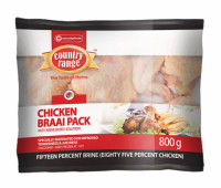 Country Range 800g Braai Pack