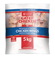 Cater Chicken Chicken Wings 5kg