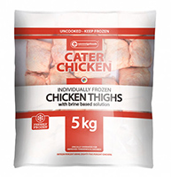Cater Chicken Chicken Thighs 5kg
