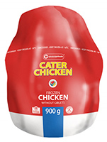Cater Chicken Frozen Chicken 900g