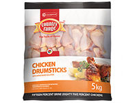 Country Range Chicken Drumsticks 5kg