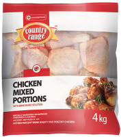 Country Range Mixed Portions 4kg