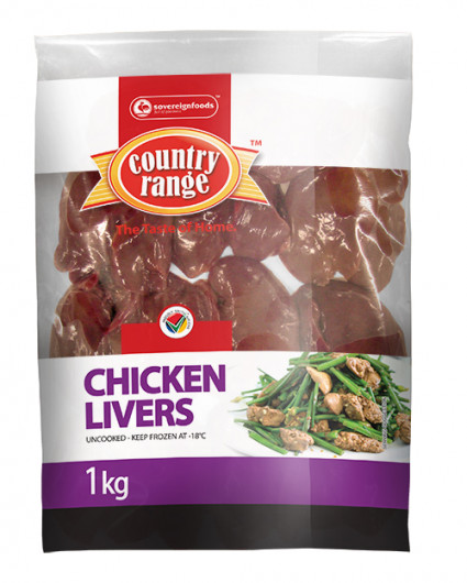CHICKEN LIVERS 1KG