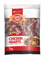 Country Range Chicken Hearts 1kg